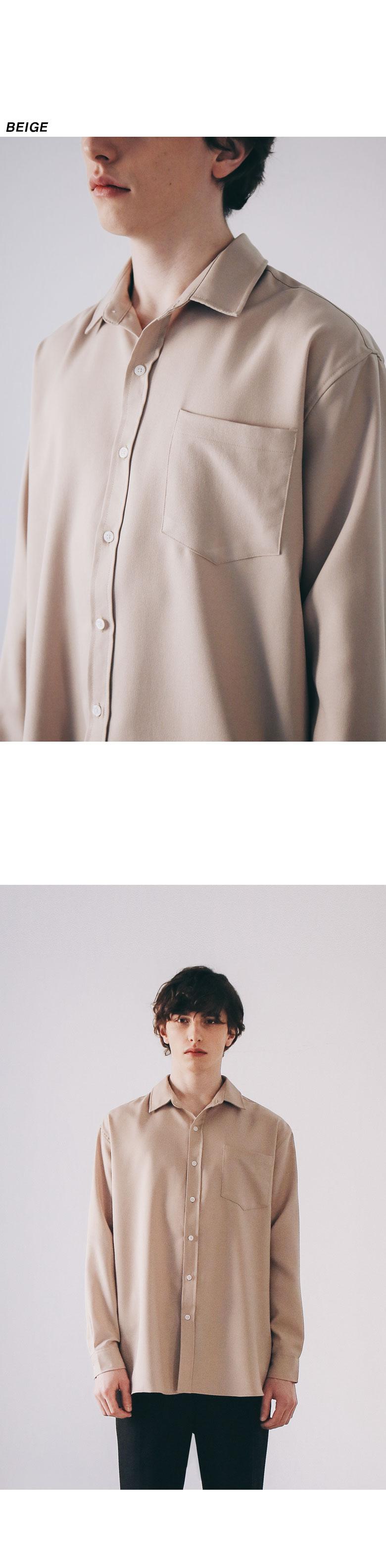 이에스엔 플로잉 오버핏 셔츠 (8color)
